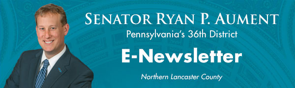 Senator Ryan Aument E-Newsletter